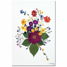 <strong>Trademark Fine Art</strong> 'Enchanted Garden' Canvas Art