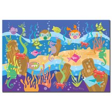 'Underwater Adventures' Canvas Art