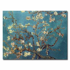 """""""Almond Blossoms"""" by Vincent Van Gogh Painting Print on Canvas"""