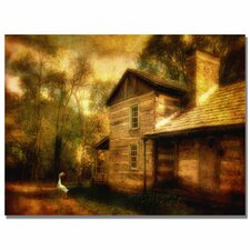 <strong>Trademark Fine Art</strong> 'Family Farm III' Canvas Art
