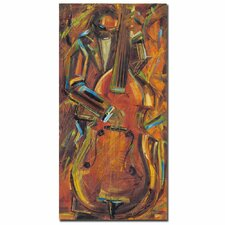 <strong>Trademark Fine Art</strong> Joarez 'Jazz I' Canvas Art