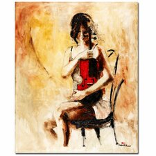 <strong>Trademark Fine Art</strong> Joarez 'Divine Melody' Canvas Art
