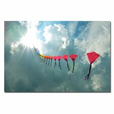 <strong>Trademark Fine Art</strong> '70 Kites' Canvas Art