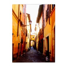 'Campo de' Fiori Alley' Canvas Art