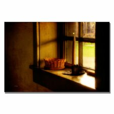 'Candle in the Window' by Lois Bryan Photographic Print on Canvas