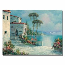 <strong>Trademark Fine Art</strong> 'Ballagio' Canvas Art