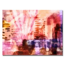 <strong>Trademark Fine Art</strong> 'Pink Urban' Canvas Art