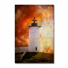<strong>Trademark Fine Art</strong> 'Red Sky in the Morning' Canvas Art