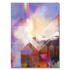 'Urban Look' by Adam Kadmos Painting Print on Canvas