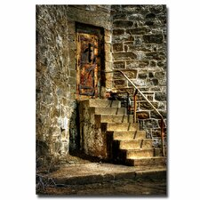 <strong>Trademark Fine Art</strong> 'The Locked Door' Canvas Art