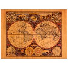 <strong>Trademark Fine Art</strong> 'World Map' Canvas Art