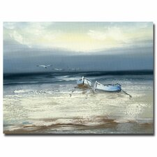 <strong>Trademark Fine Art</strong> 'Low Tide' Canvas Art