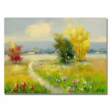 <strong>Trademark Fine Art</strong> 'A New Day II' Canvas Art