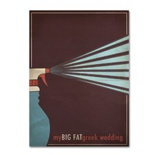 <strong>Trademark Fine Art</strong> 'My Big Fat Green Wedding' Canvas Art