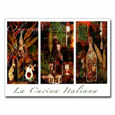 <strong>Trademark Fine Art</strong> 'La Cucina Italiana' Canvas Art