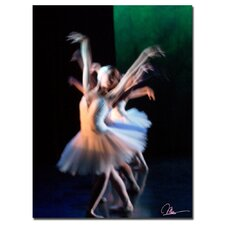 <strong>Trademark Fine Art</strong> 'Dancers V' Canvas  Art