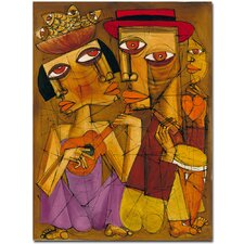 <strong>Trademark Fine Art</strong> 'Golden Times' Canvas Art