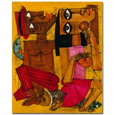 <strong>Trademark Fine Art</strong> 'Al Ritmo de tu Corazon' Canvas Art
