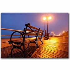 <strong>Trademark Fine Art</strong> 'Boardwalk' Canvas Art