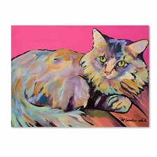 <strong>Trademark Fine Art</strong> 'Catatonic' Canvas Art