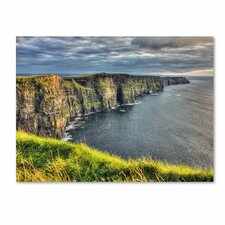 'Cliffs of Moher Ireland' by Pierre Leclerc Photographic Print on Canvas