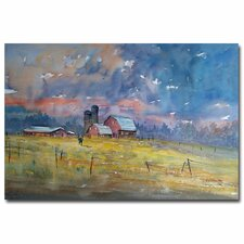 <strong>Trademark Fine Art</strong> 'Storm Brewing' Canvas Art