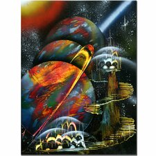 <strong>Trademark Fine Art</strong> 'Planet Alignment' Canvas Art