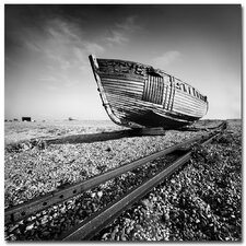 <strong>Trademark Fine Art</strong> 'Ship Wreck' Canvas Art