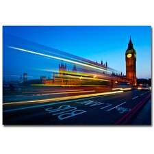 <strong>Trademark Fine Art</strong> 'London; Big Ben' Canvas Art