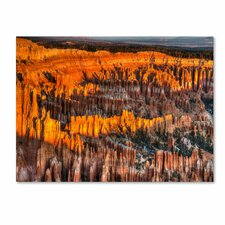 'Bryce Canyon Sunrise' Canvas Art