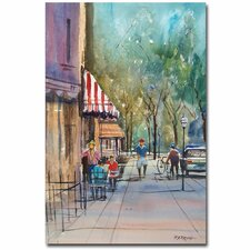 <strong>Trademark Fine Art</strong> 'Summer in Cedarburg' Canvas Art