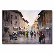 <strong>Trademark Fine Art</strong> 'When in Rome' Canvas Art