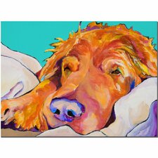 <strong>Trademark Fine Art</strong> 'Snoozer King' Canvas Art