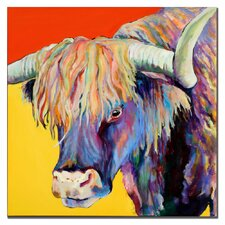 """Scotty"" by Pat Saunders-White Painting Print on Canvas"