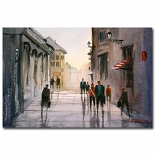 <strong>Trademark Fine Art</strong> 'A Stroll in Italy' Canvas Art