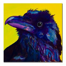 """Corvus"" by Pat Saunders-White Painting Print on Canvas"