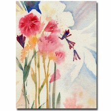 <strong>Trademark Fine Art</strong> 'Garden Shadows' Canvas Art