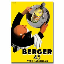 <strong>Trademark Fine Art</strong> 'Berger 45' Canvas Art
