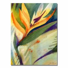 <strong>Trademark Fine Art</strong> 'Bird of Paradise' Canvas Art