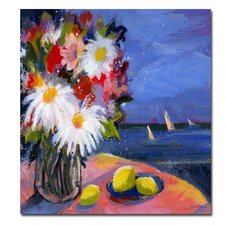 <strong>Trademark Fine Art</strong> 'Out to Sea' Canvas Art