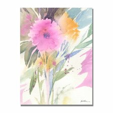 <strong>Trademark Fine Art</strong> 'Deep Pink Haze' Canvas Art