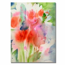<strong>Trademark Fine Art</strong> 'Bouquet in Spring' Canvas Art