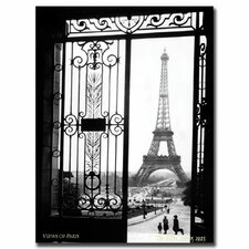 Views of Paris Photographic Print on Canvas by Sally Gall