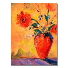 <strong>Trademark Fine Art</strong> 'Fiesta Bouqet' Canvas Art