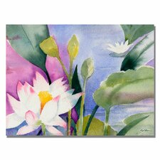 <strong>Trademark Fine Art</strong> 'Lotus Pond' Canvas Art
