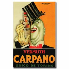 <strong>Trademark Fine Art</strong> 'Carpano' Canvas Art