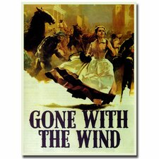 <strong>Trademark Fine Art</strong> 'Gone with the Wind' Canvas Art