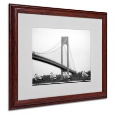 "<strong>Trademark Fine Art</strong> ""Verrazano"" Matted Framed Art"