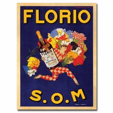 <strong>Trademark Fine Art</strong> 'Florio S.O.M' Canvas Art