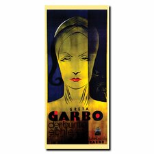 <strong>Trademark Fine Art</strong> 'Greta Garbo' Gallery Wrapped Canvas Art